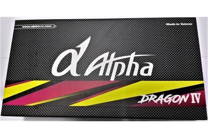 ALPHA DRAGON IV EDITION 2 PRE BRAKE-IN .21 TURBO NITRO RACING ENGINE COMBO SET