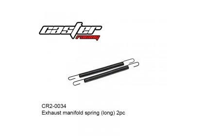 CASTER RACING CR2-0034 EXHAUST MANIFOLD SPRING LONG 2PCS
