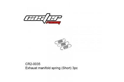 CASTER RACING CR2-0035 EXHAUST MANIFOLD SPRING SHORT 3PCS
