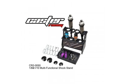 CASTER RACING CR2-0050 1/8 & 1/10 MULTI FUNTIONAL SHOCK STAND