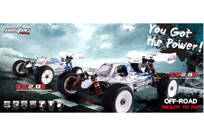 CASTER RACING ZX2.0 RTR GP 1/8 NITRO BUGGY
