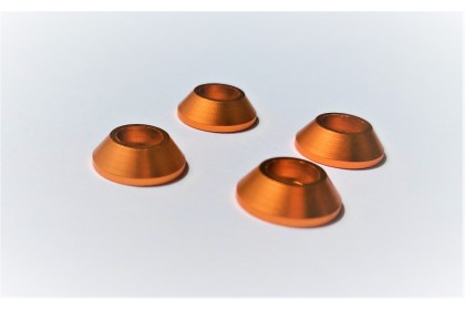 TQ TOP QUALITY COLOR WASHER C3 X D12 X H4MM FOR M3 CAP SCREW 4PCS