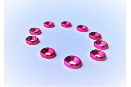 TQ COLOR WASHER FOR M3 FLAT OR ROUND HEAD SCREW 10PCS